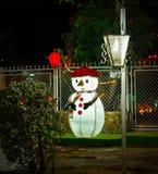 Notte di Natale a Maracaibo fotografie stock libere da diritti