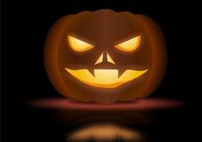 Notte di orrore di Halloween Fotografia Stock Libera da Diritti