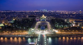 Notte di Parigi Fotografie Stock