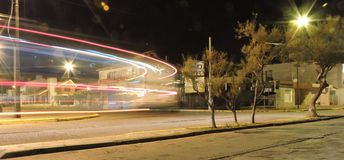 notte di Patagonia Immagine Stock