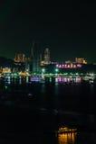 Notte di Pattaya Fotografia Stock Libera da Diritti