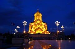 Notte di Sameba Fotografie Stock