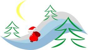 Notte di San Silvestro royalty illustrazione gratis