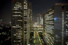 Notte di Tokyo Fotografia Stock Libera da Diritti