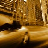 Notte di traffico Immagini Stock Libere da Diritti