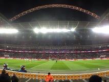 Notte di Wembley immagini stock libere da diritti