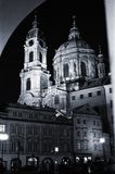 Notte I di Praga Fotografia Stock