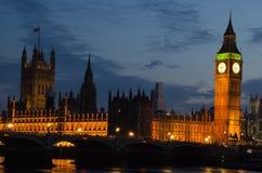 Notte III di Londra Fotografia Stock Libera da Diritti