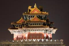notte il palazzo imperiale Immagine Stock Libera da Diritti