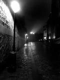 Notte a Montmartre Fotografie Stock Libere da Diritti