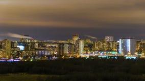 Notte Mosca Fotografie Stock Libere da Diritti