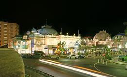 Notte nel Monaco immagini stock libere da diritti