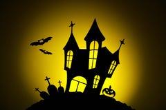 Notte nella celebrazione di Halloween immagine stock libera da diritti