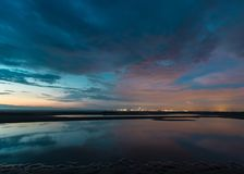 Notte in Netherland Fotografia Stock Libera da Diritti