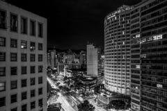 Notte noir Immagini Stock Libere da Diritti