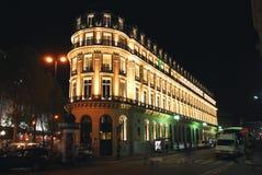 Notte Parigi Fotografie Stock Libere da Diritti