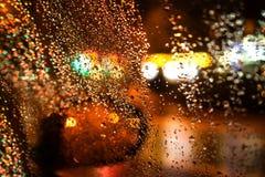 Notte piovosa Immagine Stock Libera da Diritti