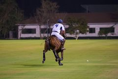 Notte Polo Tournament Fotografie Stock