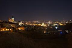 Notte Praga Immagine Stock