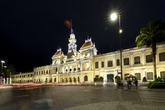Notte reale del palazzo di architettura, Fotografia Stock Libera da Diritti