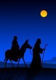 Notte santa Fotografie Stock