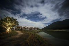 Notte silenziosa a Khaoyai, la Tailandia fotografie stock