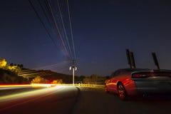 Notte sparata in California Immagini Stock
