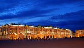 Notte St Petersburg fotografie stock