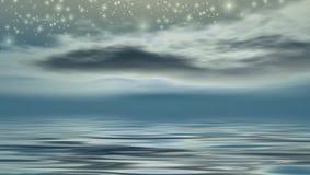 Notte stellata Immagini Stock Libere da Diritti