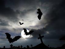Notte terribile Fotografia Stock Libera da Diritti