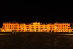 Notte a Vienna fotografie stock