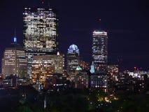 Notti della città Fotografie Stock