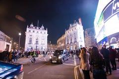 Notti di Londra Immagini Stock Libere da Diritti