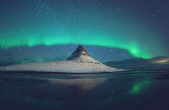 Notti polari Fotografie Stock