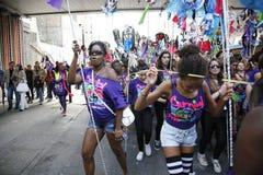 notting 2011 karnawałowych wzgórzy Fotografia Royalty Free
