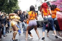 notting 2011 karnawałowych wzgórzy Zdjęcia Royalty Free