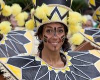 notting aktör för karnevalkull Royaltyfri Foto