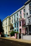 Notting hill. Houses with colors