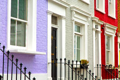 Notting hill  area  in london england  and antique Royalty Free Stock Images