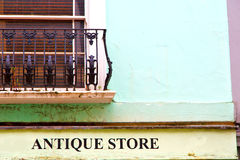 Notting   hill  area  in london england antique store Stock Images