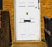 Notting   hill  area  in london england old suburban and antique Royalty Free Stock Image