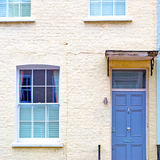 Notting   hill  area  in london england old suburban and antique Stock Photos
