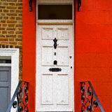 Notting   hill  area  in london england old suburban and antique Stock Photography