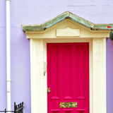 Notting   hill  area  in london england old suburban and antique Stock Images