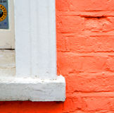 Notting   hill  area  in london england old suburban and brick Stock Photography