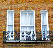 Notting   hill  area  in london england old suburban and brick Royalty Free Stock Image
