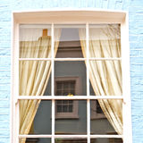 Notting   hill  area  in london england old suburban and flowers Royalty Free Stock Image