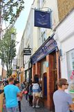 The Notting Hill Bookshop Royalty Free Stock Images