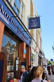 The Notting Hill Bookshop Royalty Free Stock Photography