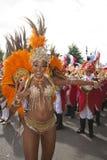 Notting Hill Carnival. Pretty Samba Dancer at Notting Hill Carnival stock image